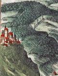 Ansicht der Stadt Kalkar (Detail) aus Braun und Hogenbergs Civitates Orbis Terrarum, 1575, Band 2